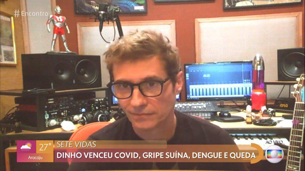 Recuperado da Covid-19, Dinho Ouro Preto fala de sequelas da doença: 'Tive problemas nas cordas vocais'